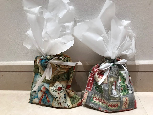 This year's Christmas bags